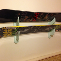 "SNOWBOARD-SKI-LONGBOARD---Wall Holders ""Lonely Mountains"" - Display three"