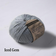 Erika Knight Gossypium Cotton Iced Gem 50g