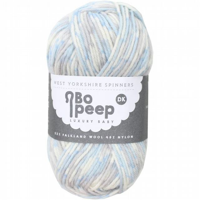 West Yorkshire Spinners Bo Peep Luxury baby yarn 50g Splash Time