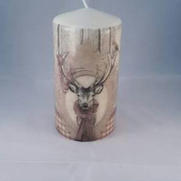 stag candle, deer candle