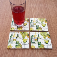 wine lover coasters
