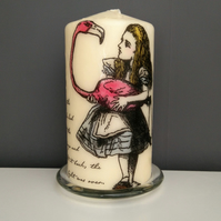 alice in wonderland candle