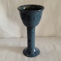 Medium grey blue goblets
