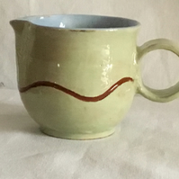 Ceramic Cream or Sauce Jug. Mother's Day gift.Wedding Gift. Tableware .Handmade