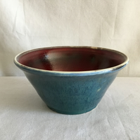 Red and Blue Bowl
