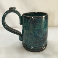 Hand Thrown Pottery Mug. Tea, Coffee, Studio Pottery. Christmas Gift. Tableware