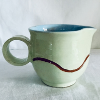 Ceramic Cream or Sauce Jug. Dining, Desserts,Tableware, Dinnerware, Homeware