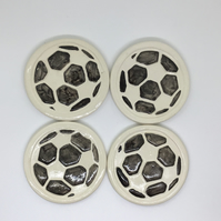 Set of 4 Football Coasters.
