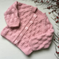 Cosy Hand Knitted Cardigan for Babies