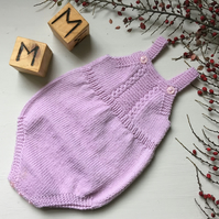 Merino Wool Knitted Romper