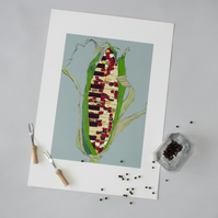 Sweet Corn Piano - Limited Edition Giclee Print