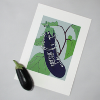 Aubergine Clarinet - Limited Edition Giclee Print