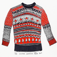 Winter Jumper by Pandora Johnson - Screen Print