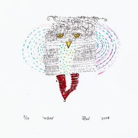 Hibou by Pandora Johnson - Screen Print