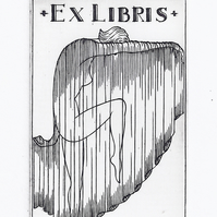 Bookplate by Richard Whyles - Copper Plate Engraving
