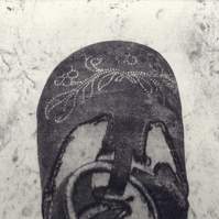Learning to Run, W6 by Christine Stangroom - Photopolymer etching