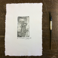 For Openers by Anna Johnson - Photopolymer Etching