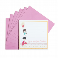 Personalised Fairy Notecards