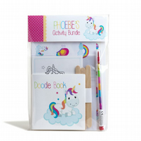 Personalised Rainbow Unicorn Activity Bundle