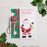 Personalised Christmas Lollipop Note