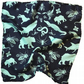Mens Hand Designed Feared Creatures 100% Silk Pocket Square with Hand Rolled Hem