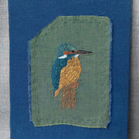 Embroidered Kingfisher