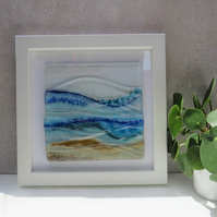 Glass Art Landscape