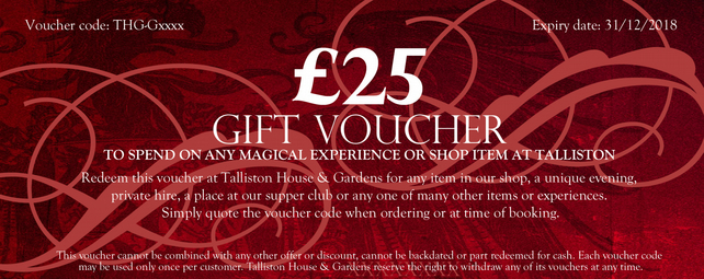 Talliston Gift Voucher