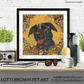 Fine Art Giclee Print - 'Black Labrador - Wags & Smiles at the Beach' - Unframed