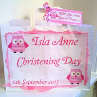 Personalised Paper Gift Wrap for New Baby, Christening, Baby Shower