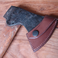 Custom leather axe sheath - hatchet blade cover