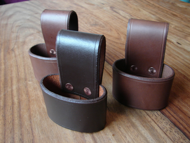 leather axe holster belt loop 2 colours folksy