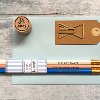 Pack of 3 Pencils. The Note Taker Pack. Birthday Gift