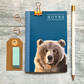 A6 Pocket Notebook - Bear Notebook - Birthday Gift