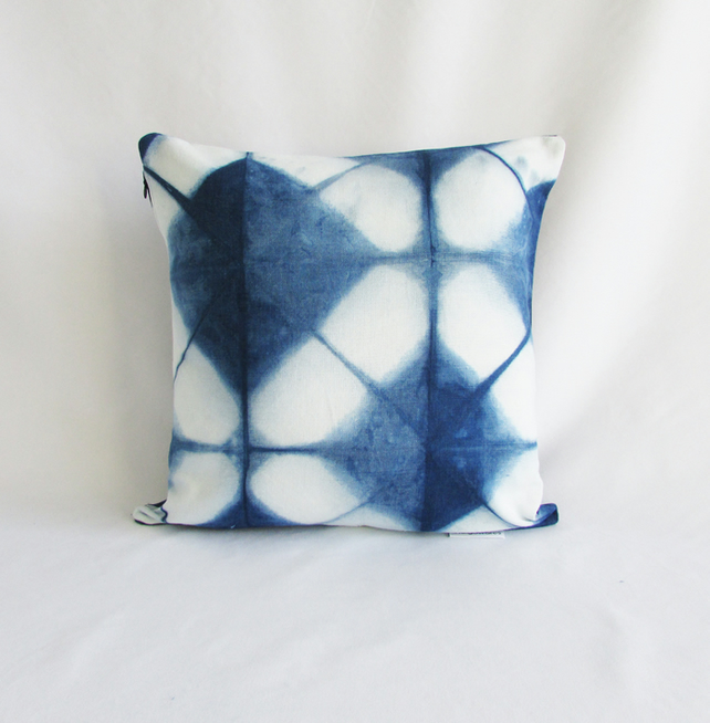 INDI 270  Hand-dyed Unique Shibori Cushion