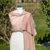 Merino Wool Women's Shawl. Ladies Stole.  Merino Wool Scarf, Wrap