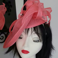 Evie Coral Hat