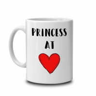 Princess at Heart Mug