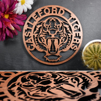 Castleford Tigers Badge Plaque