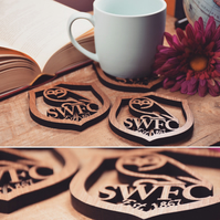 Individual Sheffield Wednesday Badge Coaster