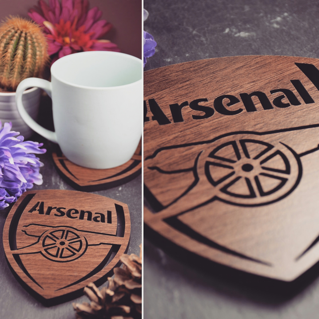Pack of 4 Arsenal Coasters