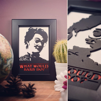 Stranger Things - Barb - What Would Barb Do? Framed Artwork - 13cm x 18cm