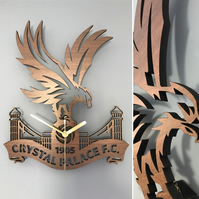 Crystal Palace Badge Clock