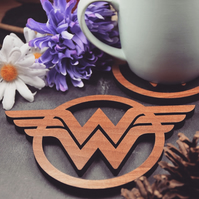 Individual Wonder Woman Coasters