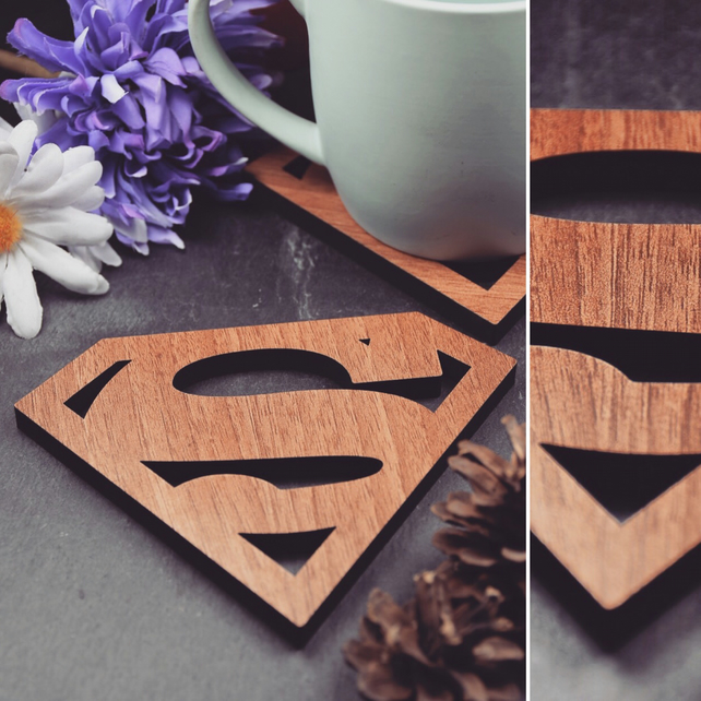 Individual Superman Coasters