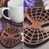 Individual Spider-Man Head Coasters