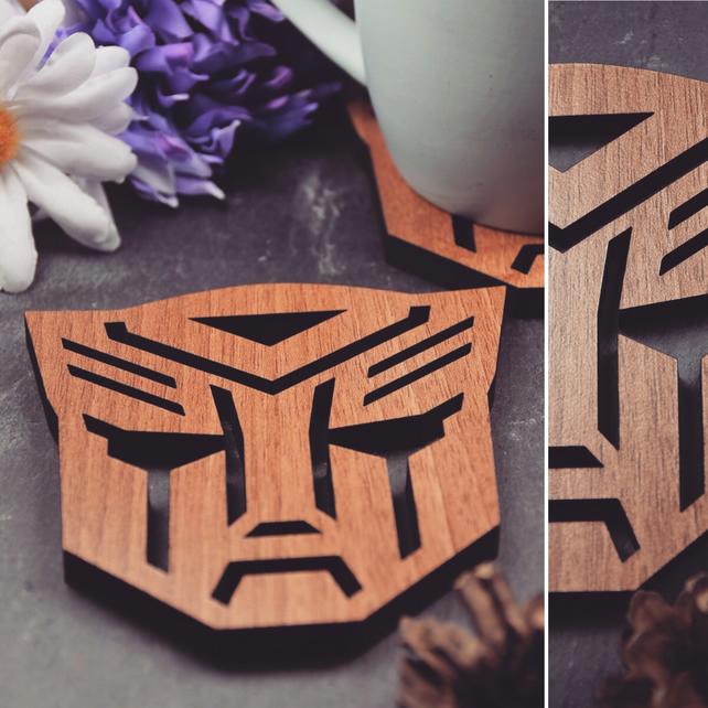 Individual Transformers Coasters