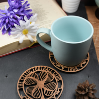 Individual Celtic Badge Coaster