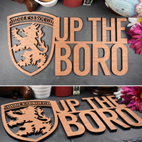 Middlesbrough FC - Up the Boro Sign