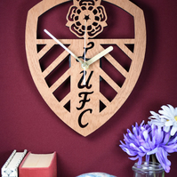 Leeds United Shield Badge (00s) Clock. Leeds United lovers. Ideal gift for Leeds